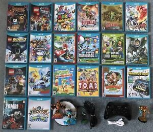 Wii U Games for sale, brand new condition, no scratches on disc.