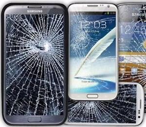 WE REPAIR ALL BROKEN SAMSUNG SCREENS S3,S4,S5,S6,S7,S7EDGE,NOTE 1/2/3/4/5- PHONES AND TABLETS