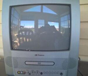 """Téléviseur 15"""" avec lecteur DVD intégré"""