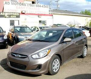 """NO ACCIDENT""  2014 HYUNDAI ACCENT HATCHBACK AUTO LOW KMS.."