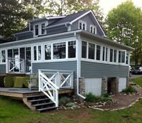 Waterfront Cottage For Rent on Sturgeon Lake