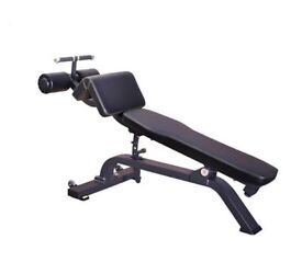 Commercial Grade Adjustable Decline Abs Bench (NEW)