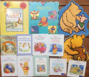 WINNIE THE POOH Board Books $2 each or all 13 for $15