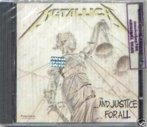 METALLICA-AND-JUSTICE-FOR-ALL-SEALED-CD-NEW