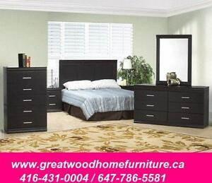BRAND  NEW 6 PCS QUEEN  BEDROOM SET FOR  $499..