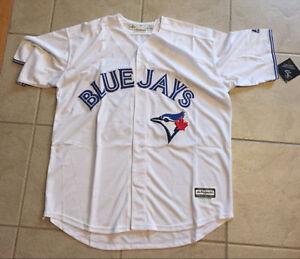 Roberto Alomar Blue Jays White Jersey XL