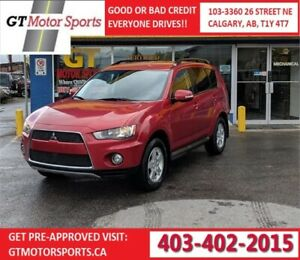 2012 Mitsubishi Outlander LS AWD | $0 DOWN - EVERYONE APPROVED!