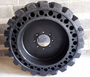 Solid Skid Steer Tires ONLY $585 each