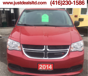 2014 Dodge Grand Caravan,STOW & GO,6 cyl,fnancing available,clea