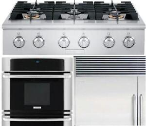 Professional Built-In Kitchen appliance package. Built-In Fridge