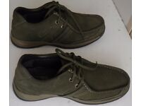 100% genuine leather Woodland shoes in excellent and new condition