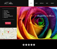 WEBSITE & GRAPHIC DESIGNER