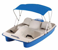 Waterwheeler Electric Pedal Boat - great condition