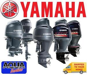 YAMAHA OUTBOARD / OUTBOARD MOTOR / SHIPPED TO YOUR HOME