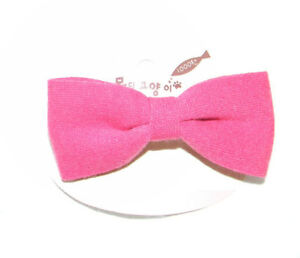 Pink Hair Bow - New