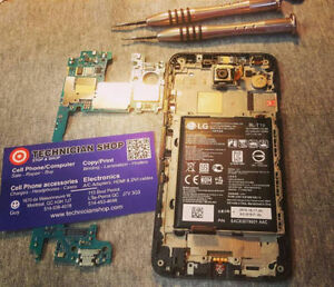 iPhone / samsung /BB/Motorola/LG/Nokia LCD/Screen replacement West Island Greater Montréal image 1