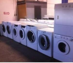 FRONT LOAD WASHER- DRYER SET- 1 YEAR WARRANTY!!