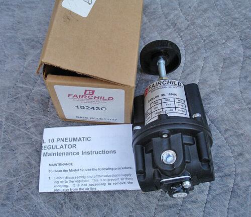 Fairchild Pressure Regulator Z16490-10243C NEW