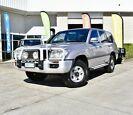 2001 Toyota Landcruiser HDJ100R GXL Silver 5 Speed Manual Wagon