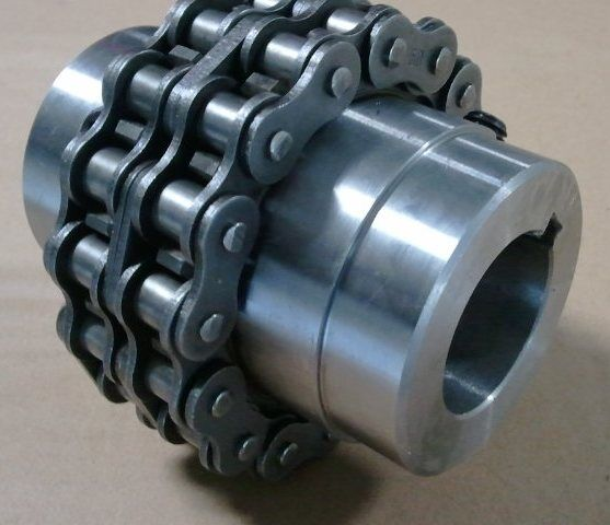 CHAIN / SPROCKET COUPLING #50 DOUBLE CHAIN, 16 TOOTH DOUBLE SPROCKET