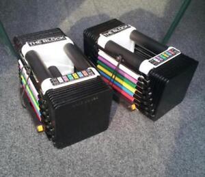 Powerblock Classic 5lbs to 45lbs Adjustable Dumbbells bowflex