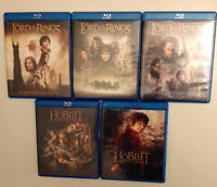 The Lord Of The Rings blu ray
