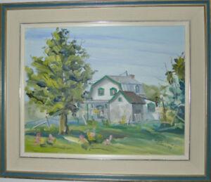 Peinture de St-Laurent