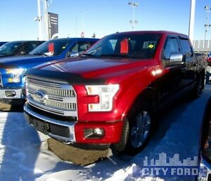 "2015 Ford F-150 4x4 SuperCrew 145"" Platinum"