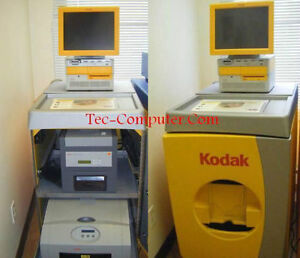 Kodak G4 Kiosk fully loaded with 8800 & 6850 printers