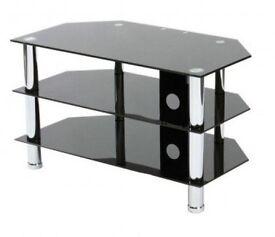 Black Glass TV stand / unit