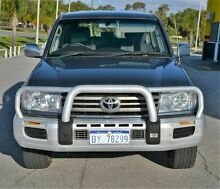 2007 Toyota Landcruiser 100 Series GXL AIRBAG SUSPENSION Blue 5 Speed Automatic Wagon East Rockingham Rockingham Area Preview