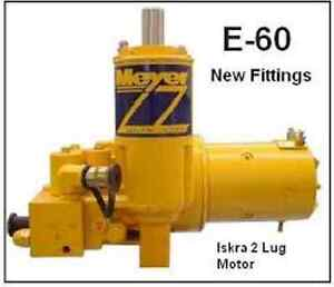 E60 Myer snow plow pump
