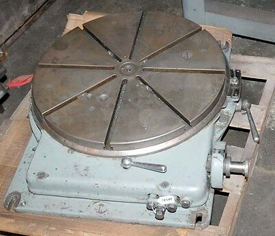 Sip Type Pd-5 Jig Bore Rotary Table 23 Inch Inv.14589