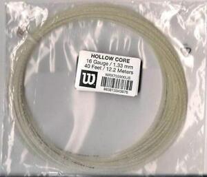 WILSON HOLLOW CORE 16/1.33 TENNIS STRING SETS -3 X 12 M. SETS