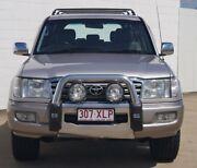 2004 Toyota Landcruiser UZJ100R Sahara Silver 5 Speed Automatic Wagon Bundaberg Central Bundaberg City Preview