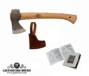 Gransfors-Bruks-Wildlife-Hatchet-Axe-415-Brand-New