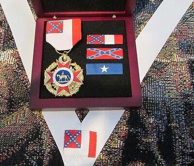 Loyal Legion of the Confederacy - Non-Civil War CSA Medal Boxed Special