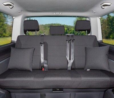 Sitzreihe VW T6//T5 Multivan Second Skin für Drehsitz in 2 California Beach