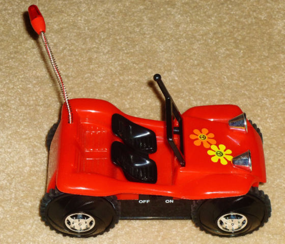 Battery Operated The Original Tumble Buggy Red