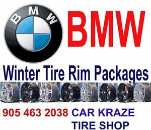 BMW Winter Tires Wheels Package FOR ALL BMW 1 2 3 4 5 6 7 Series and X5 X6   At Car Kraze 905 463 2038