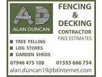 Alan Duncan Fencing and Decking