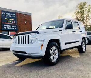 2012 Jeep Liberty Sport 4x4 $89 Bi-weekly/ Cash Back available