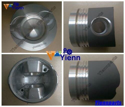 P158FE P158LE piston kit w/ ring for Doosan Daewoo generator diesel engine set
