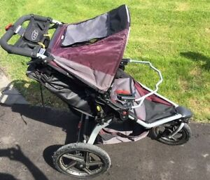 Bob stroller with car seat adapter