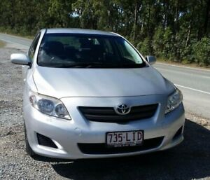 2007 Toyota Corolla ZRE152R Ascent Silver 4 Speed Automatic Sedan Stapylton Gold Coast North Preview