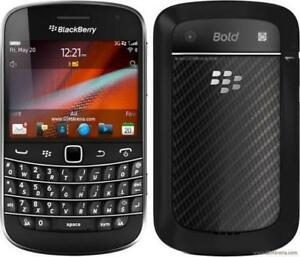 DEBLOQUÉ MONDIALEMENT UNLOCKED WORLDWIDE BLACKBERRY BOLD 9900 FIDO ROGERS CHATR BELL KOODO+++ 4G WIFI + TOUCHSCREEN HSPA