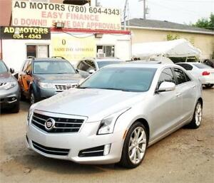 2013 CADILLAC ATS-4 (AWD) PERFORMANCE PACKAGE / TOP OF THE LINE