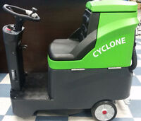 Cyclone RideOn Autoscrubber FOR SALE+FREE cleaning supplies $500