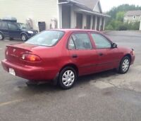 2001 Toyota Corolla - like new! **REDUCED**