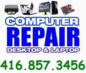 In Home + Office Computer Services! We fix both Mac & PC!